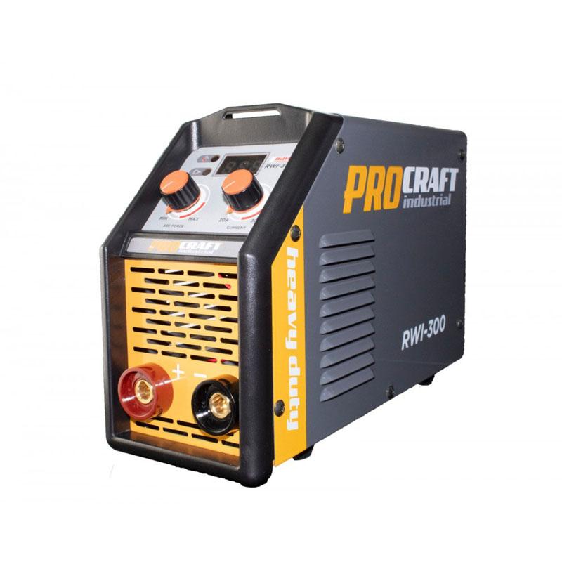 Invertor profesional Procraft RWI 300, 300 A, MMA, electrozi 1.6 - 4 mm, functii hot strat si arc force, idicator digital, IP 2104-800x800